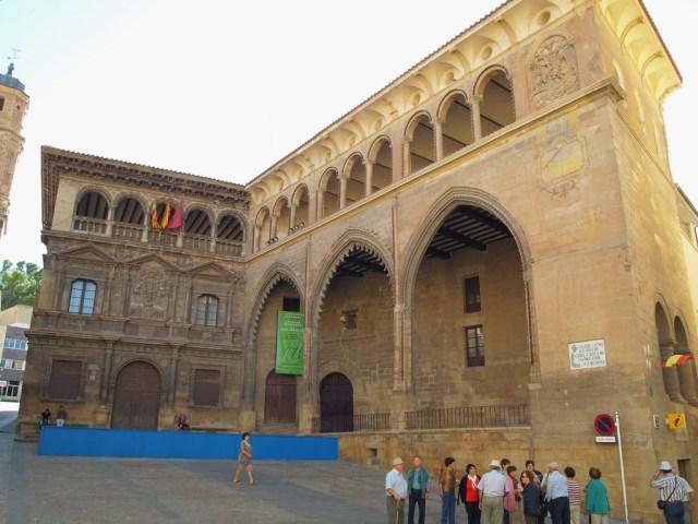 Plaza de España, Alcañiz