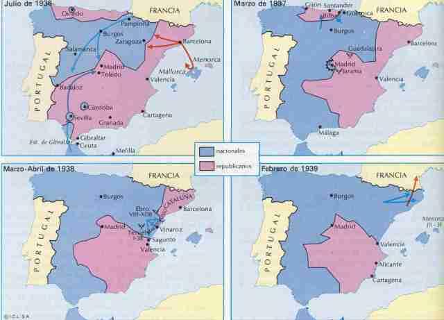 Evolucion-de-la-Guerra-Civil-Espanola-1936-1939