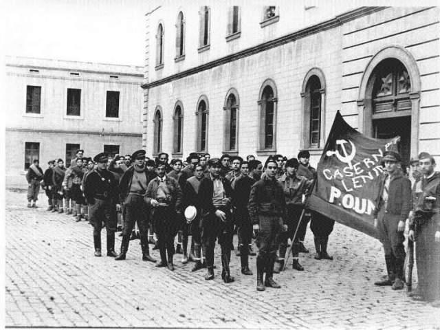 Cuartel Lenin con Orwell